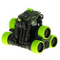 Samochód RC Storm Stunt 6 kół 360 teleskop zielony