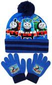 Czapka Rękawiczki Komplet Tomek i Przyjaciele Thomas