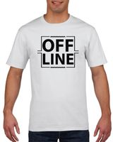 Koszulka męska Offline XL Biały